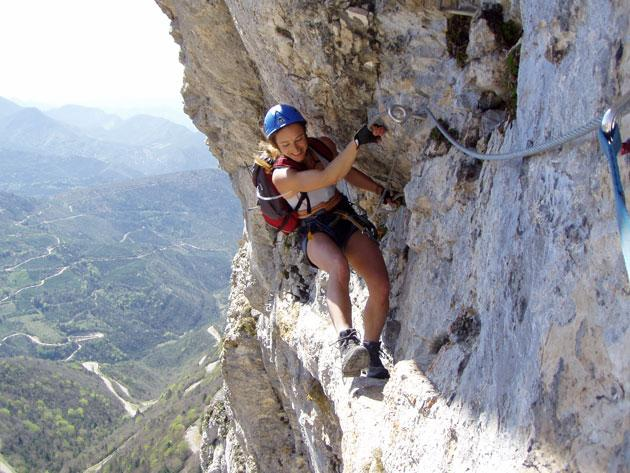 Via-ferrata de chironne